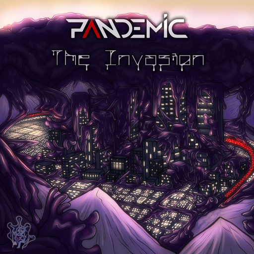 Album cover for The Invasion by Pandemic