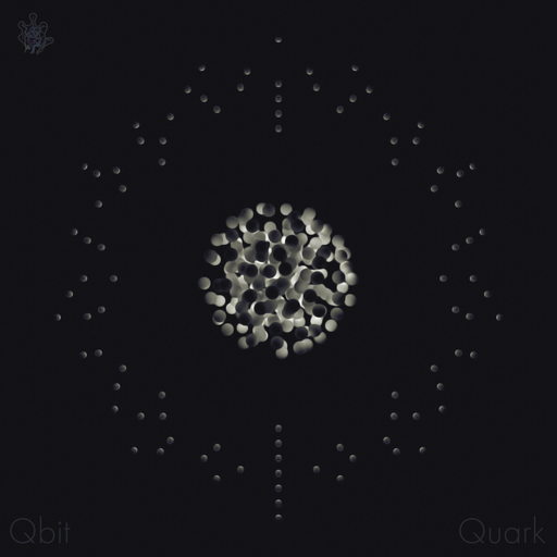 Album cover for Quark by Qbit