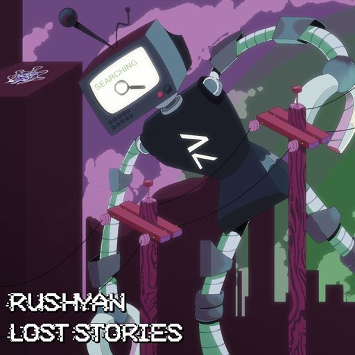 Album cover for Lost Stories by Rushyan